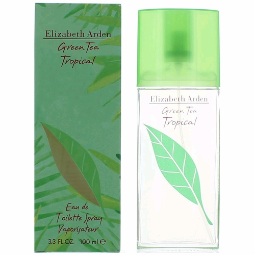 Green Tea Tropical by Elizabeth Arden, 3.3 oz Eau De Toilette Spray for Women