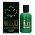 Green Wood by Dsquared2, 3.4 oz Eau De Toilette Spray for Men