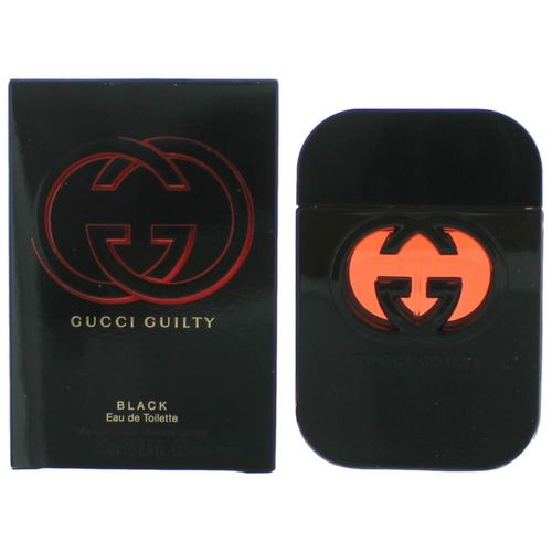 Gucci Guilty Black by Gucci, 2.5 oz Eau De Toilette Spray for Women