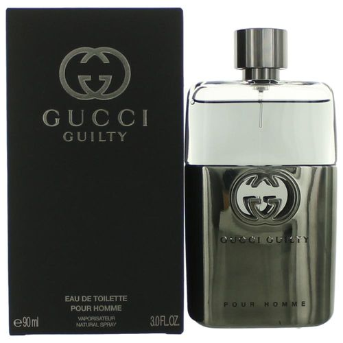 Gucci Guilty by Gucci, 3 oz Eau De Toilette Spray for Men