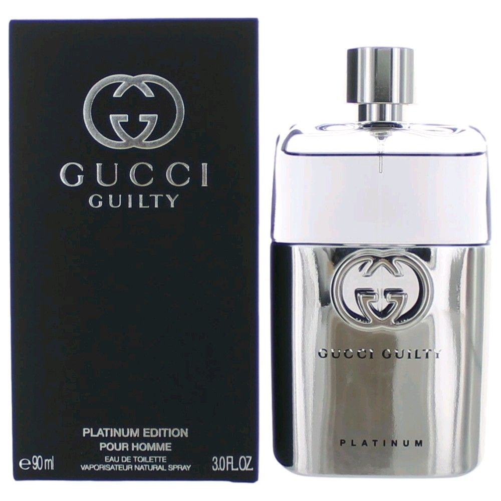 358b22b5235 Authentic Gucci Guilty Platinum Cologne By Gucci
