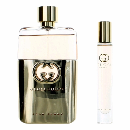 Gucci Guilty Pour Femme by Gucci, 2 Piece Gift Set for Women