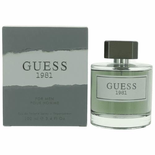 Guess 1981 by Guess, 3.4 oz Eau De Toilette Spray for Men