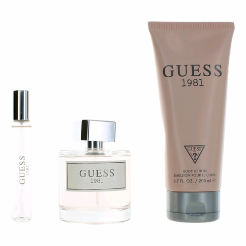 Guess 1981 by Guess, 3 Piece Gift Set for Women