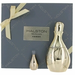 Halston Woman Amber by Halston, 2 Piece Gift Set for Woman