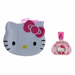 Hello Kitty by Air-Val, 3.4 oz Eau De Toilette Spray for Girls with Metal Lunch Box