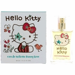 Hello Kitty Funny Love by Sanrio, 1.7 oz Eau De Toilette Spray for Girls