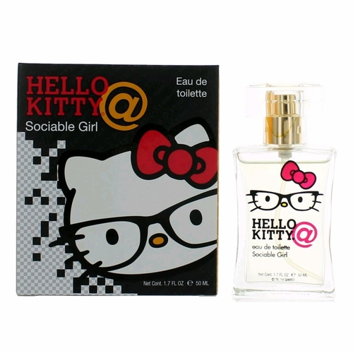 Hello Kitty Sociable Girl by Sanrio, 1.7 oz Eau De Toilette Spray for Girls