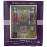 Her Fragrance Favorites by Elizabeth Arden, 6 Piece Variety Gift Set for Women