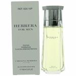 Herrera by Carolina Herrera, 3.4 oz Eau De Toilette Spray for Men Tester
