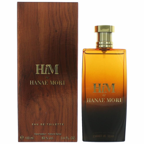 HiM by Hanae Mori, 3.4 oz Eau De Toilette Spray for Men