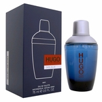 Hugo Dark Blue by Hugo Boss, 2.5 oz Eau De Toilette Spray for Men