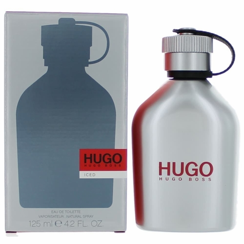 Hugo Iced by Hugo Boss, 4.2oz Eau De Toilette Spray for Men