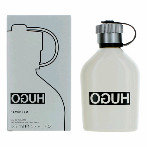 Hugo Reversed by Hugo Boss, 4.2 oz Eau De Toilette Spray for Men