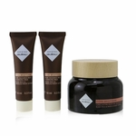 I Coloniali Empowered Beauty Remedies Travel Set With Bag: 1x Hydra Brightening - Long Lasting Moisture Cream SPF 15 - 50ml/1.7oz + 2x Hydra Brightening - Pure Radiance Rich Cleansing Milk - 10ml/0.3oz + 1x bag  3pcs+1bag