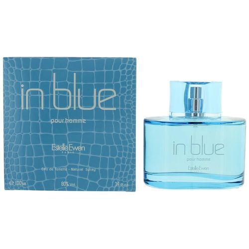 In Blue by Estelle Ewen, 3.4 oz Eau De Toilette Spray for Men