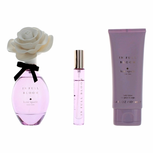 In Full Bloom by Kate Spade, 3 Piece Gift Set for Women