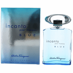 Incanto Blue by Salvatore Ferragamo, 3.4 oz Eau De Toilette Spray for Men