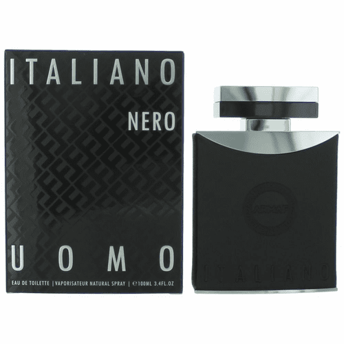 Italiano Nero by Armaf, 3.4 oz Eau De Toilette Spray for Men