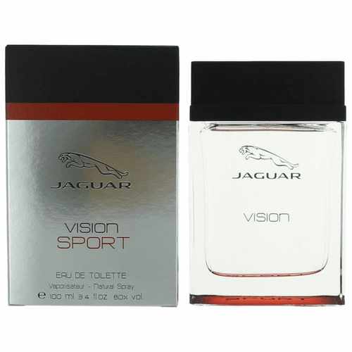 Jaguar Vision Sport by Jaguar, 3.4 oz Eau De Toilette Spray for Men