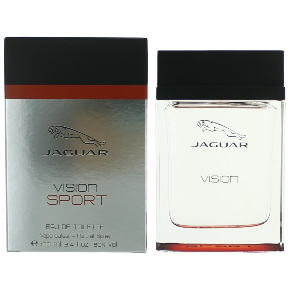 authentic jaguar vision sport cologne by jaguar 3 4 oz. Black Bedroom Furniture Sets. Home Design Ideas