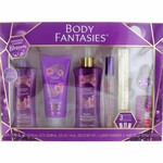 Japanese Cherry Blossom by Body Fantasies, 7 Piece Gift Set for Women
