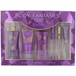 Japanese Cherry Blossom by Body Fantasies, 6 Piece Gift Set for Women