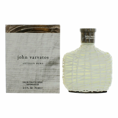 John Varvatos Artisan Pure by John Varvatos, 2.5 oz Eau De Toilette Spray for Men