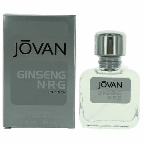 Jovan Ginseng NRG by Coty, 1 oz Cologne Spray for Men