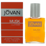 Jovan Musk by Coty, 4 oz After Shave/Cologne for Men