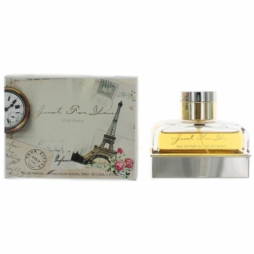 Just For You Pour Femme by Armaf, 3.4 oz Eau De Parfum Spray for Women