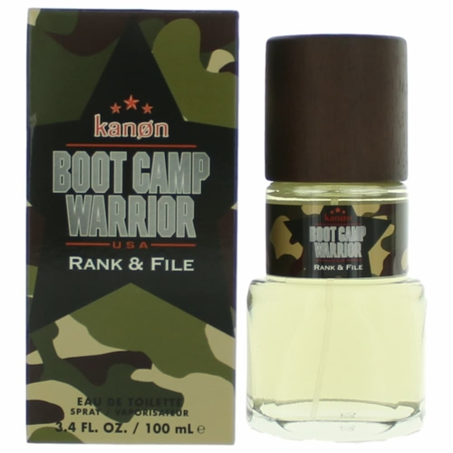 Kanon Boot Camp Warrior Rank & File by Kanon, 3.4 oz Eau De Toilette Spray for Men