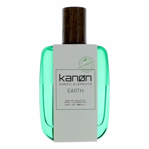 Kanon Nordic Elements Earth by Kanon, 3.4 oz Eau De Toilette Spray for Men