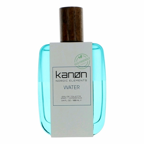 Kanon Nordic Elements Water by Kanon, 3.4 oz Eau De Toilette Spray for Men