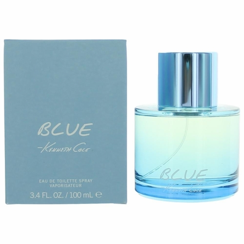 Kenneth Cole Blue by Kenneth Cole, 3.4 oz Eau De Toilette Spray for Men