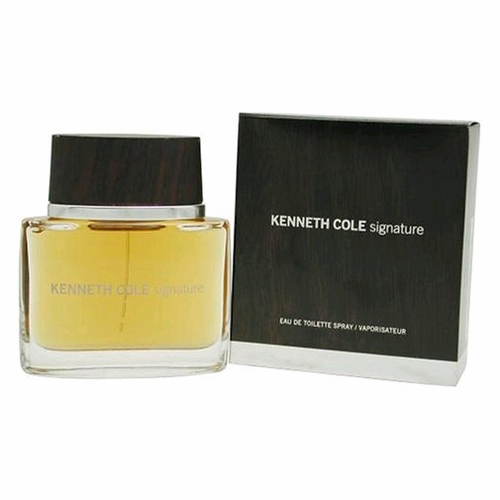 Kenneth Cole Signature by Kenneth Cole, 3.4 oz Eau De Toilette Spray for Men