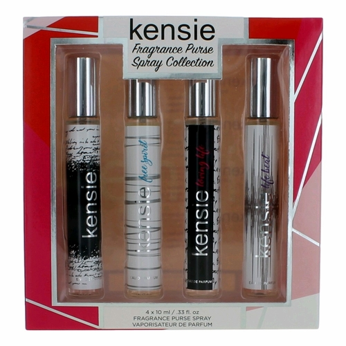 Kensie by Kensie, 4 Piece Deluxe Travel Spray Collection for Women (Purse Spray)