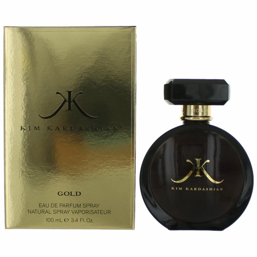 Kim Kardashian Gold by Kim Kardashian, 3.4 oz Eau De Parfum Spray for Women