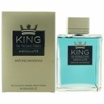 King of Seduction Absolute by Antonio Banderas, 6.8 oz Eau De Toilette Spray for Men