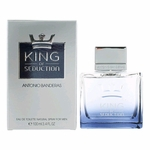 King of Seduction by Antonio Banderas, 3.4 oz Eau De Toilette Spray for Men