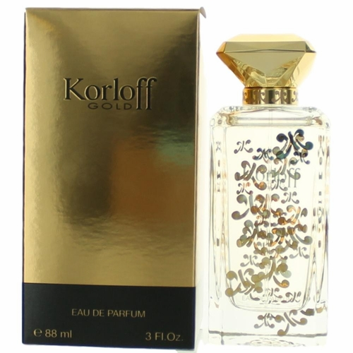 Korloff Gold by Korloff, 3 oz Eau De Parfum Spray for Women