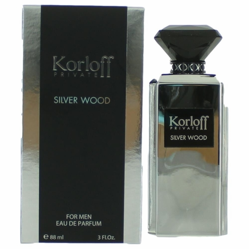 Korloff Private Silver Wood by Korloff, 3 oz Eau De Parfum Spray for Men
