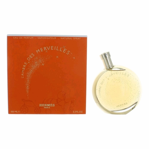 L'Ambre Des Merveilles by Hermes, 3.3 oz Eau De Parfum Spray for Women