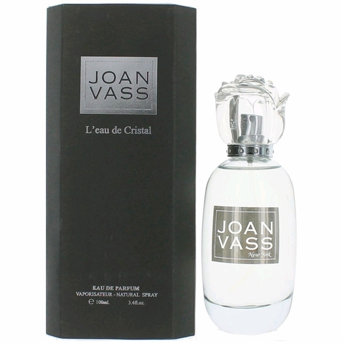 L'eau de Cristal by Joan Vass, 3.4 oz Eau De Parfum Spray for Women