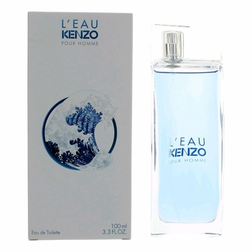 L'eau Kenzo Pour Homme by Kenzo, 3.4 oz Eau De Toilette Spray for Men