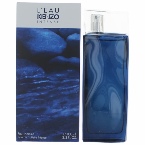 L'eau Par Kenzo Intense by Kenzo, 3.4 oz Eau De Toilette Spray for Men