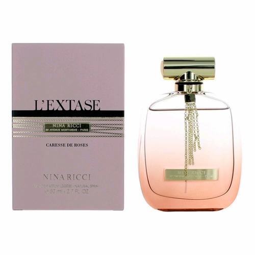 L'extase Caresse De Roses Legere by Nina Ricci, 2.7 oz Eau de Parfum Spray for Women