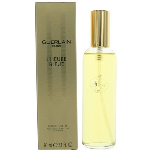 L'Heure Bleue by Guerlain, 3.1 oz Eau De Toilette Spray Refill for Women (Lheure)