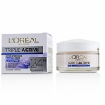 L''Oreal Triple Active Hydrating Night Cream 24H Hydration - For All Skin Types  50ml/1.7oz