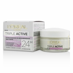 L''Oreal Triple Active Multi-Protective Day Cream 24H Hydration - For Dry/ Sensitive Skin  50ml/1.7oz